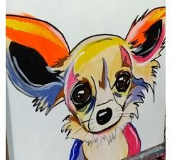 """Chihuahua"" POP ART"