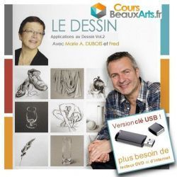 "Clé USB ""Dessin : Applications au Dessin Volume 2"""
