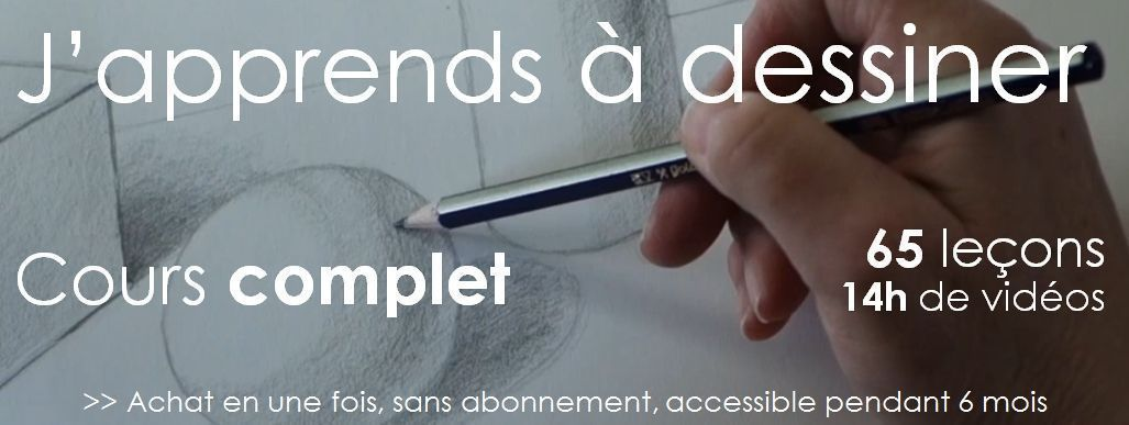 japprends a dessiner